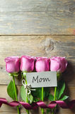 Mothers day gift flowers Stock Image