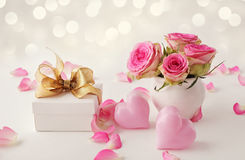 Mothers day gift royalty free stock photography