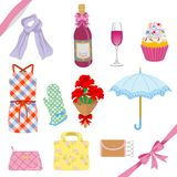 Mothers Day gift set Stock Photo