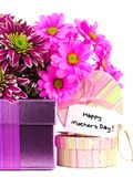 Mothers Day gifts and flowers Stock Photo