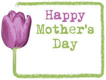 Mothers day greeting card background Stock Image