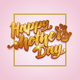 Mothers Day greeting card Stock Image