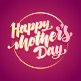 Mothers Day greeting card Stock Images
