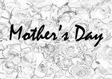 Mothers day greeting card Stock Photo