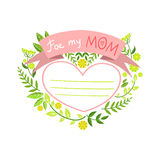 Mothers Day Greeting Cards Collection Stock Images