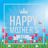 Mothers Day Greeting Royalty Free Stock Photo