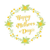 Mothers Day Greeting Stock Photography