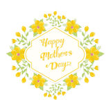 Mothers day greetings Stock Photos
