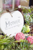 Mothers day heart Royalty Free Stock Images