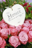 Mothers day heart Royalty Free Stock Image