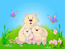 Mother's day illustration Royalty Free Stock Photo