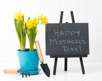 Mothers Day Message Stock Photo