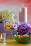 Mothers Day Party Table Royalty Free Stock Images