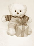 Mothers Day Picture of a Teddy Bear - Stock Photo Royalty Free Stock Image