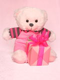 Mothers Day Picture of a Teddy Bear - Stock Photo Stock Photography