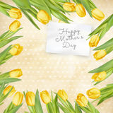 Mothers Day poster. EPS 10 Royalty Free Stock Photos
