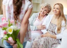 Mother�s day Royalty Free Stock Photography
