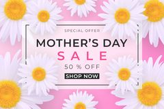 Free Mothers Day Sale Background Stock Photos - 144880813