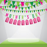 Mothers Day sale background EPS 10 vector Royalty Free Stock Image