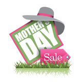 Mothers Day sale icon EPS 10 vector Royalty Free Stock Image