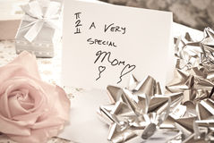 Mothers Day Surprise Royalty Free Stock Photos