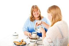 Mothers Day Tea Party stock images