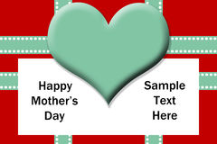 Mothers Day Template Stock Photo