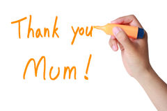 Mothers Day Thank You Stock Images