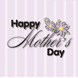 Mothers Day Title Block 2 Royalty Free Stock Photography