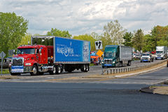Mothers Day Truck Convoy Royalty Free Stock Photos