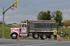 Mothers Day Truck Convoy in Lancaster Pennsylvania Royalty Free Stock Photography