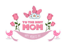 Mothers day vector Royalty Free Stock Image