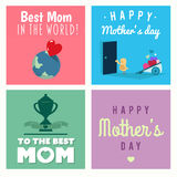 Mothers day vectors Stock Photo