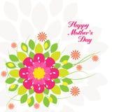 Mothers dnia kwiatu tło kolorowy Fotografia Royalty Free