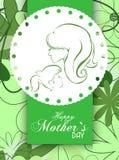 Mothers dnia tło Obrazy Royalty Free