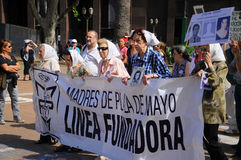 The Mothers of the Plaza de Mayo Royalty Free Stock Image