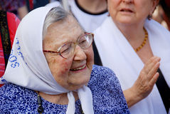 The Mothers of the Plaza de Mayo Stock Images