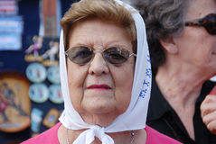 The Mothers of the Plaza de Mayo Stock Image