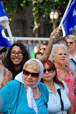 The Mothers of the Plaza de Mayo Stock Photos