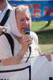 The Mothers of the Plaza de Mayo Stock Photography