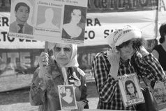 Mothers of the Plaza de Mayo Royalty Free Stock Images
