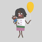 Mothers´s day royalty free illustration