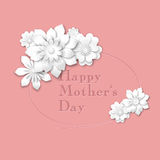 Motherss Day greeting card Royalty Free Stock Images