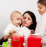Mothers with young children stock photos