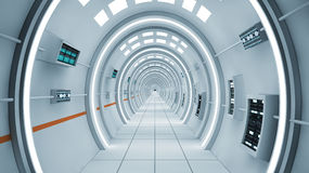 Mothership interior Royalty Free Stock Images