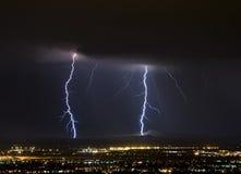 Mothership Lightning stock image