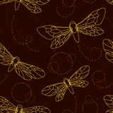 Mothes and night-flies Stock Photo