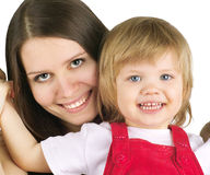 Mothet and daughter Royalty Free Stock Photos