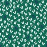 Moti abstrato tropical da folha da parte superior do abacaxi da repetição sem emenda Fotos de Stock