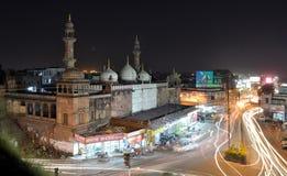 Moti-masjid, Bhopal stockfotos